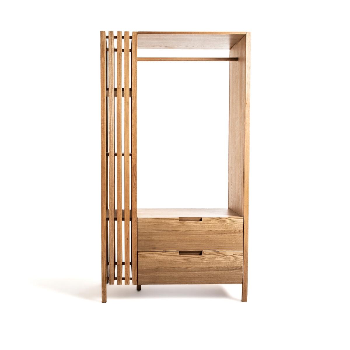 Шкаф LaRedoute Для одежды Lazar единый размер бежевый