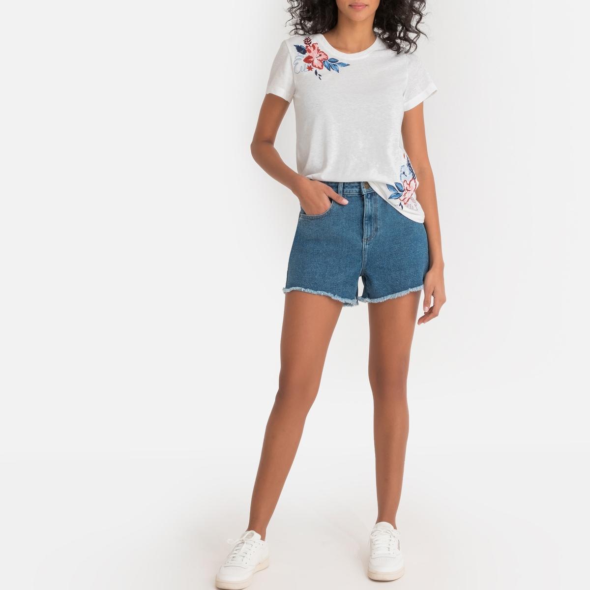 Imagen secundaria de producto de Camiseta estampada con cuello redondo Dhalia - Pepe Jeans
