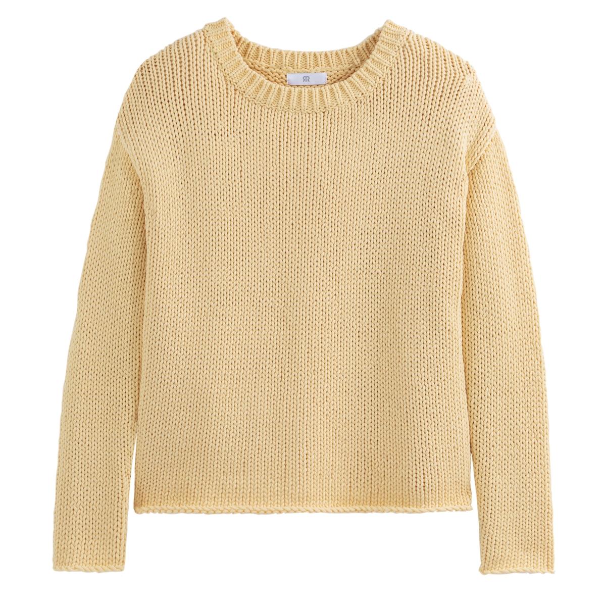 Jersey de punto grueso, algodón