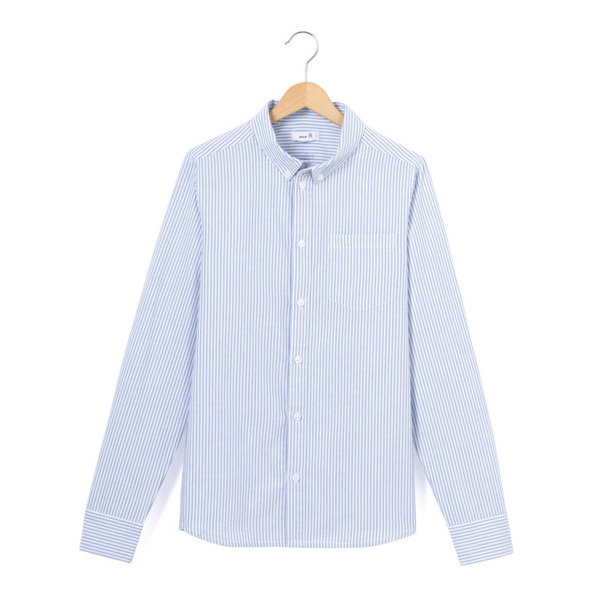 Рубашка в полоску Oxford, 10-16 лет