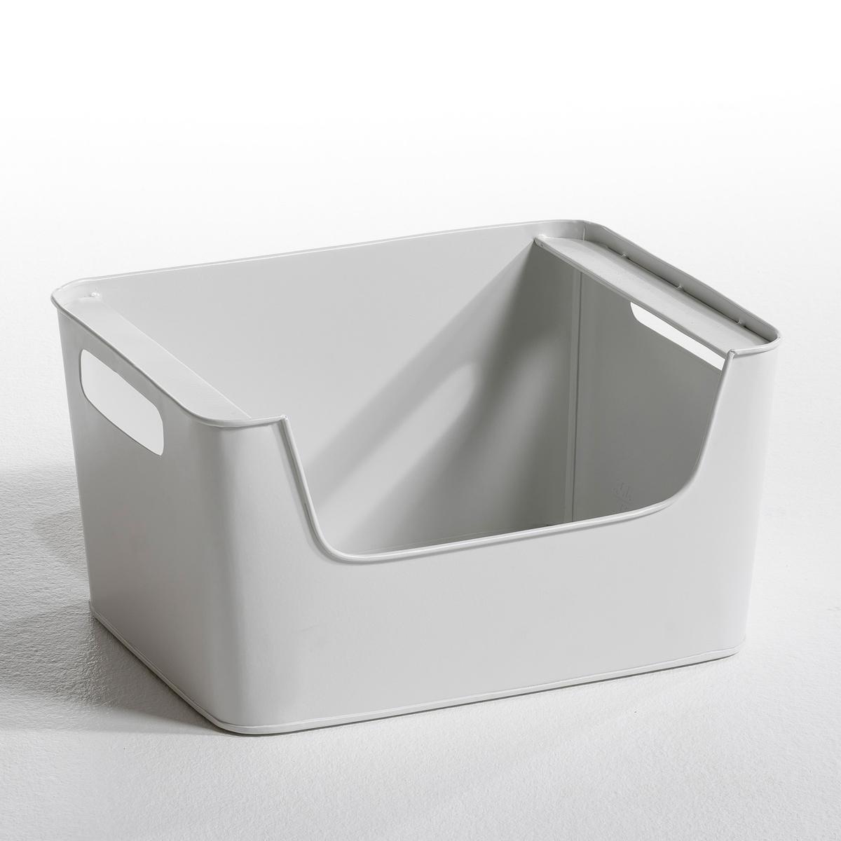 Ящик LaRedoute Из металла Д37 x В20 см Arreglo единый размер белый