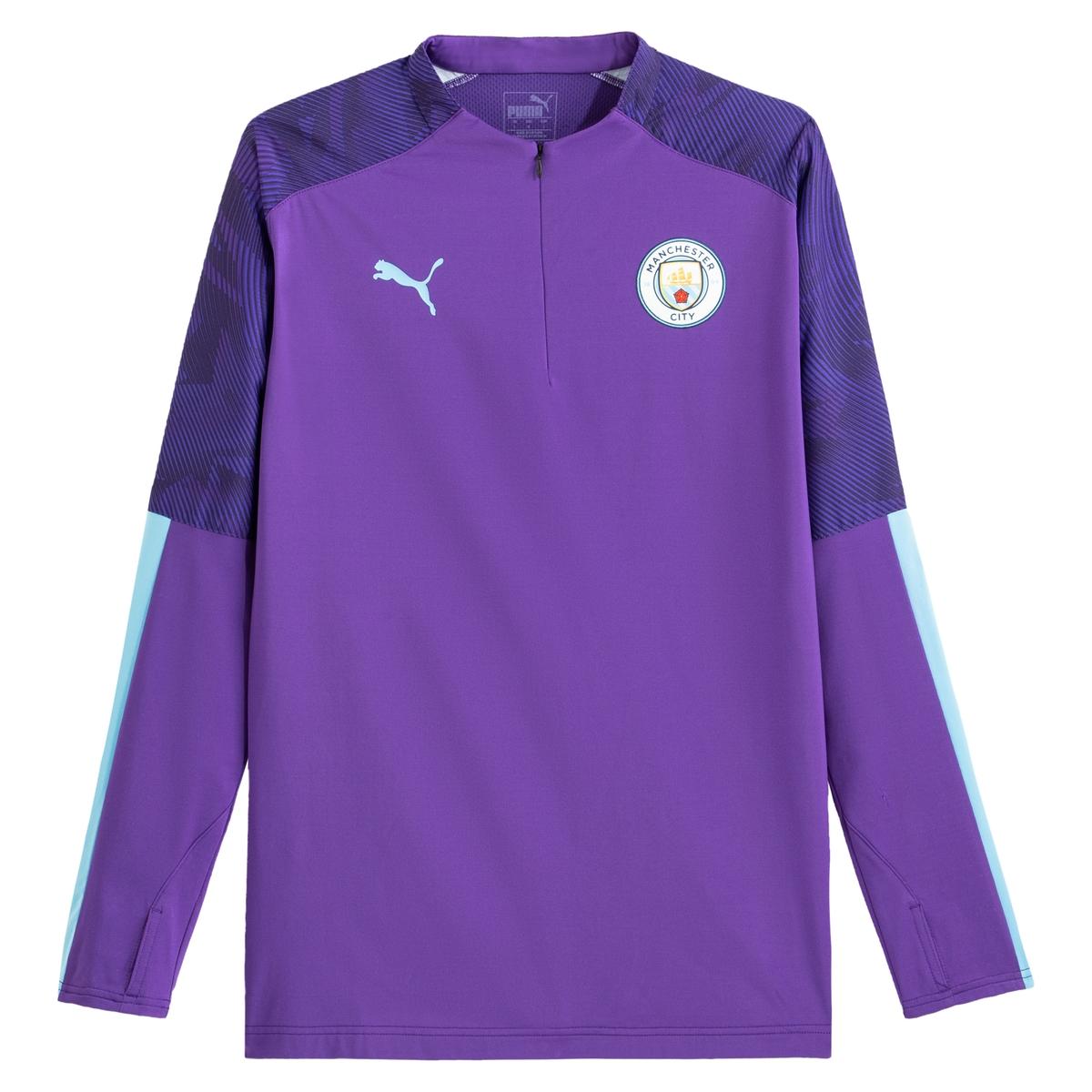 Camiseta de entrenamiento Manchester City con cremallera en el cuello