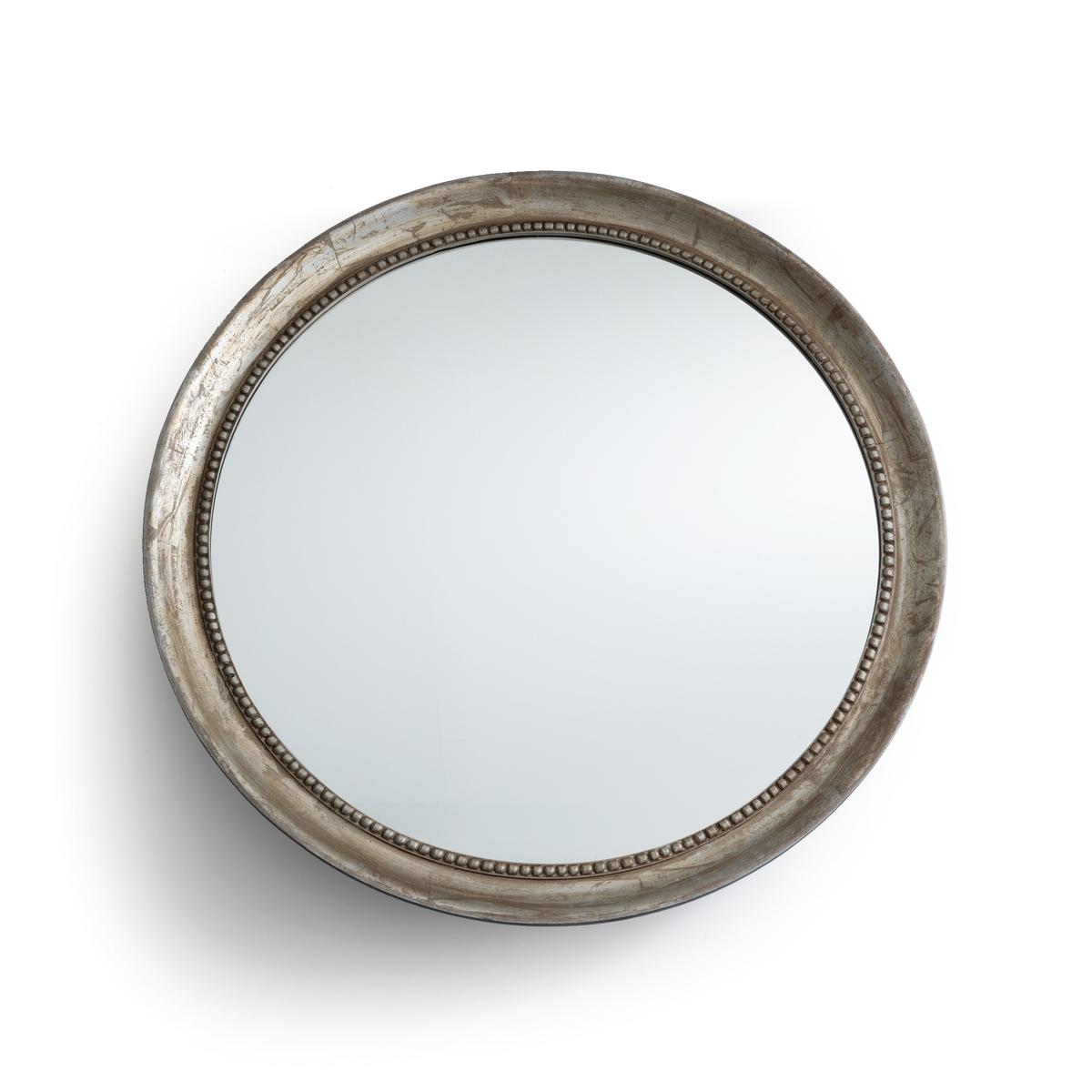 Зеркало LaRedoute Круглое 100 см AFSAN единый размер золотистый