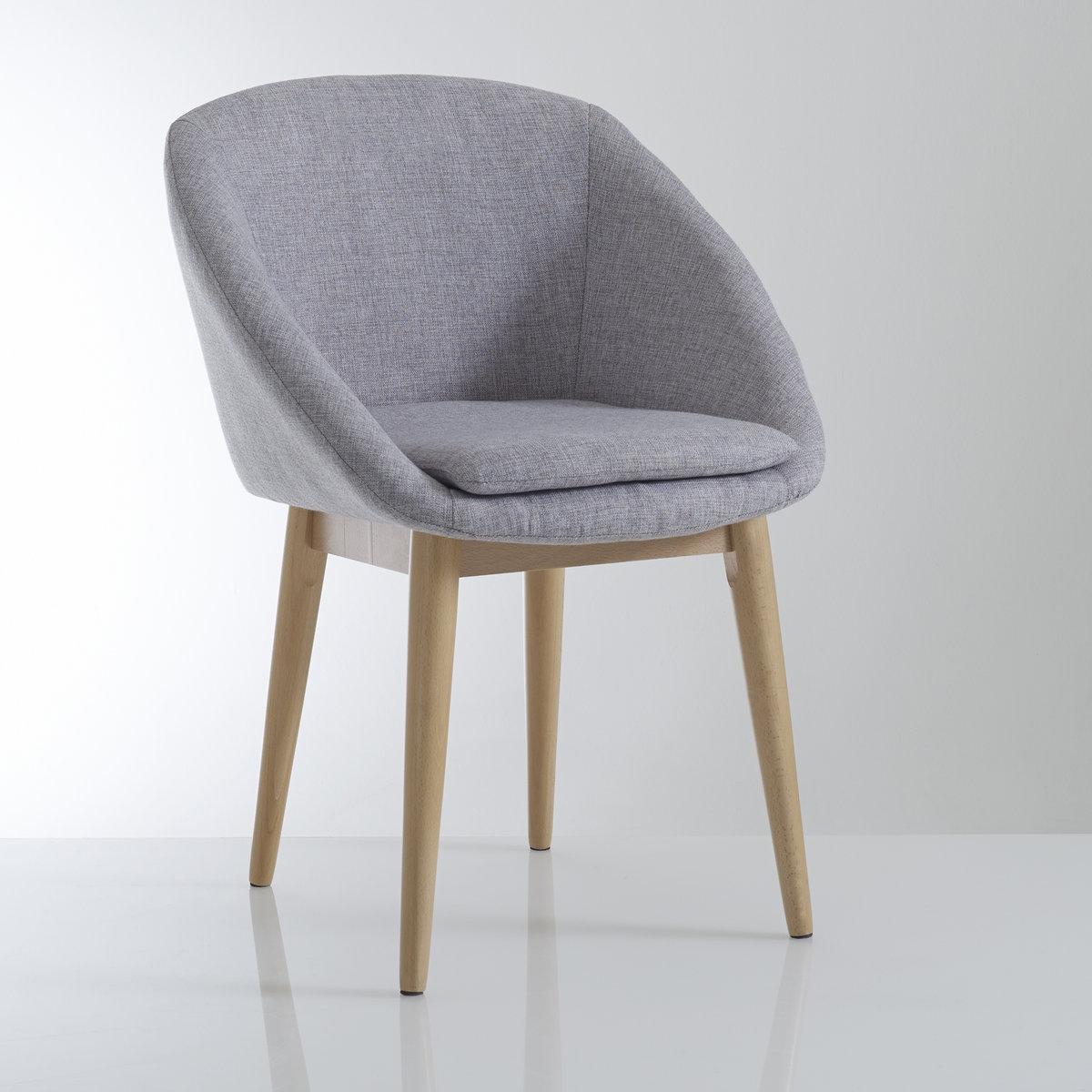 Кресло La Redoute Обеденное JIMI единый размер серый