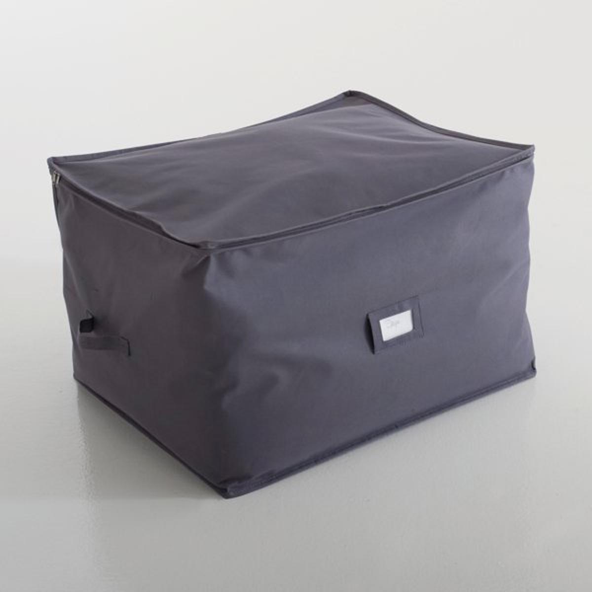 Чехол для хранения, Ш.60 x В.50 x Г.40 смЧехол для хранения. Идеален для хранения одеял, покрывал и подушек. Легко убирается под кровать или под шкаф.Характеристики чехла для хранения:полиэстер 290 г/м?.Ручки для переноски и место для бирки.Размеры чехла для хранения:Ш.60 x В.50 x Г.40 см.<br><br>Цвет: серо-коричневый каштан<br>Размер: единый размер