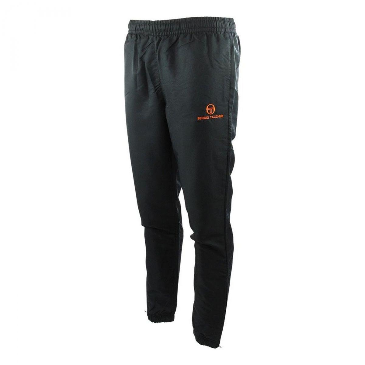 Pantalon Jogging Carson Fit Navy/Orange Fluo Jr