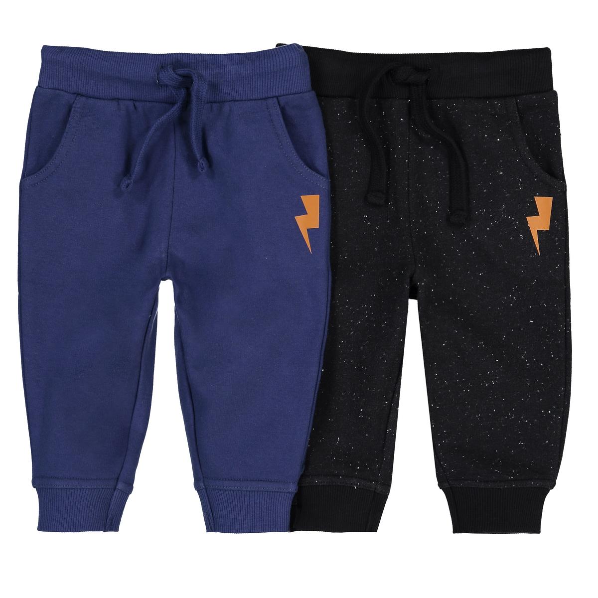 2 спортивных брюк из мольтона 1 мес -3 года бермуды с рисунком из мольтона 1 мес 3 года
