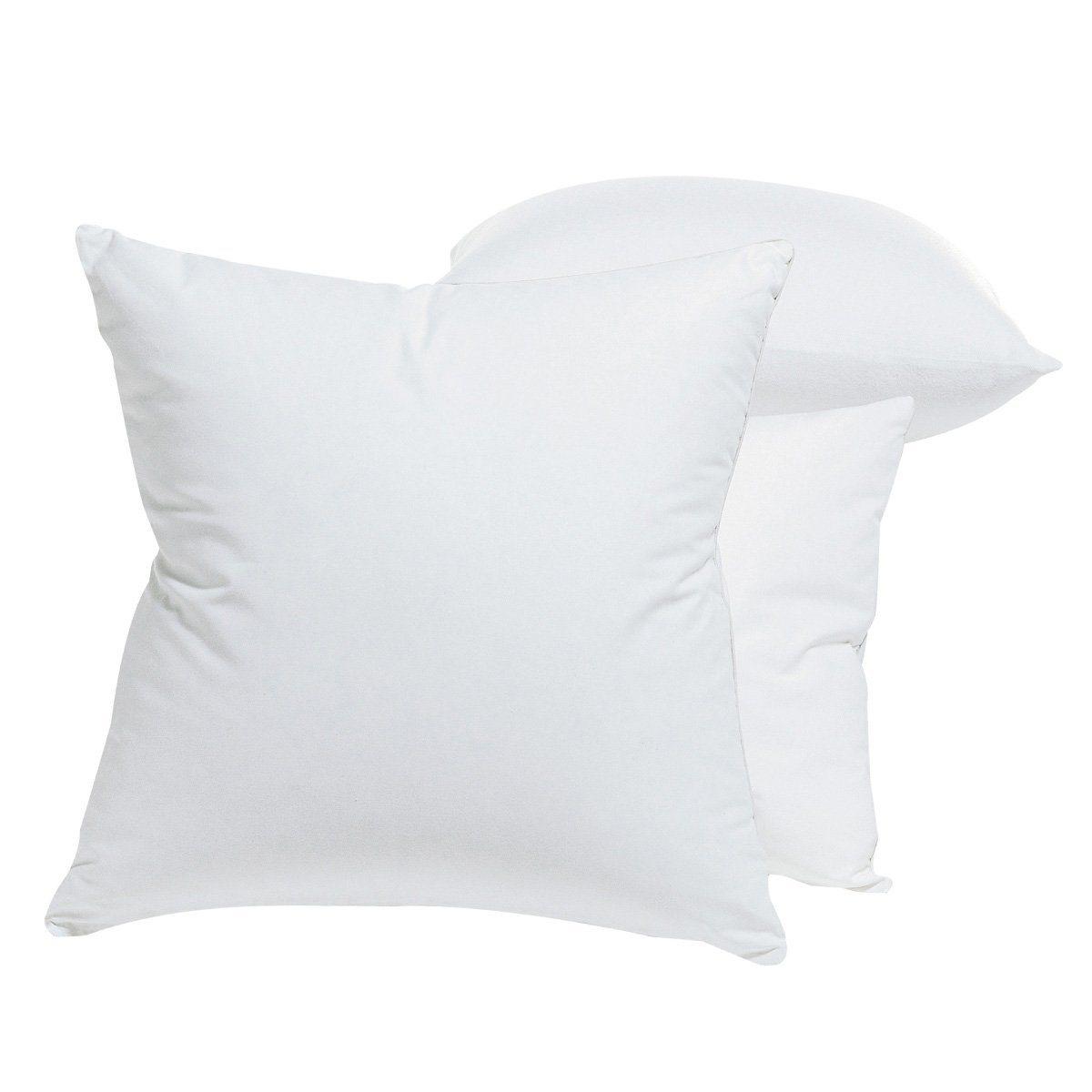 Подушка, 70% пухаПышная подушка с натуральным наполнителем из 70% пуха, 30% перьев. Чехол из атласной саржи, 100% хлопка. Отделка серым кантом. Грязеотталкивающая обработка Teflon. Обработка Proneem против клещей: абсолютно натуральная обработка не вредит окружающей среде. Вы сами можете регулировать упругость подушки: в комплекте саше с дополнительными 100г наполнителя. Размер: 40 х 40 см или 40 х 60 см. Поставка в чехле. Стирка при 40-95°.<br><br>Цвет: белый