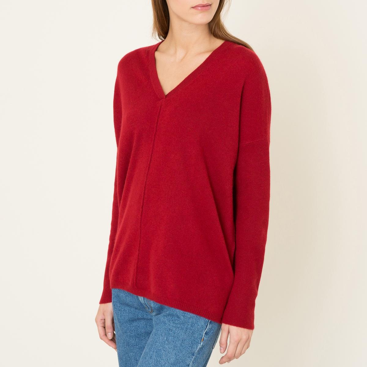 Пуловер FRED, 100% кашемирСостав и описание :         Материал : 100% кашемир          Марка : LA BRAND BOUTIQUE<br><br>Цвет: кирпичный<br>Размер: M