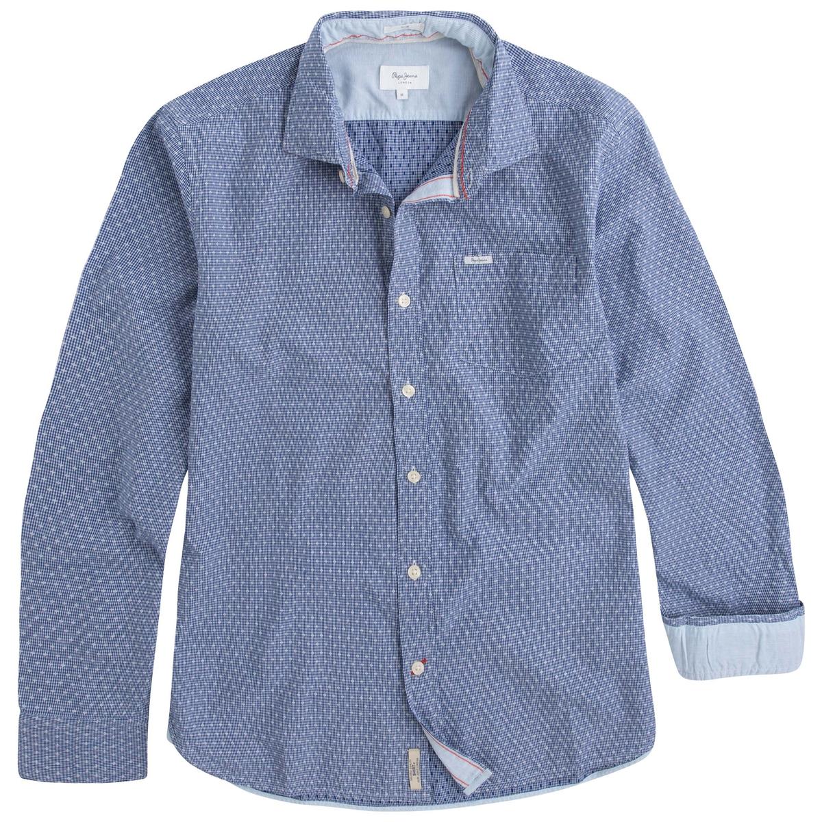 Рубашка прямого покроя с рисунком Gregor