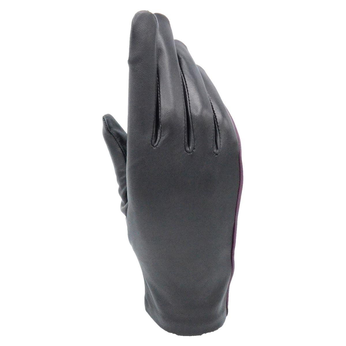 Gants en cuir femme Newkate tactile