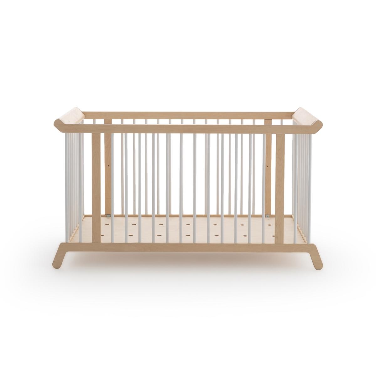 Кровать LaRedoute Детская Coccole дизайн Э Галлины 60 x 120 см бежевый