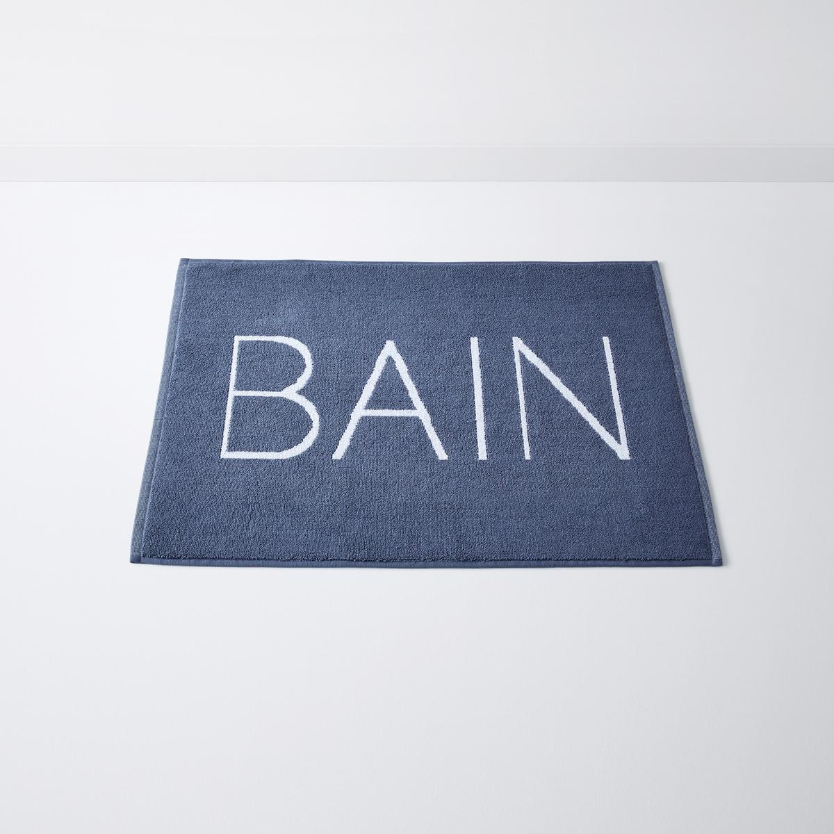 Коврик для ванной с надписью BAIN, Vasca всё для ванной