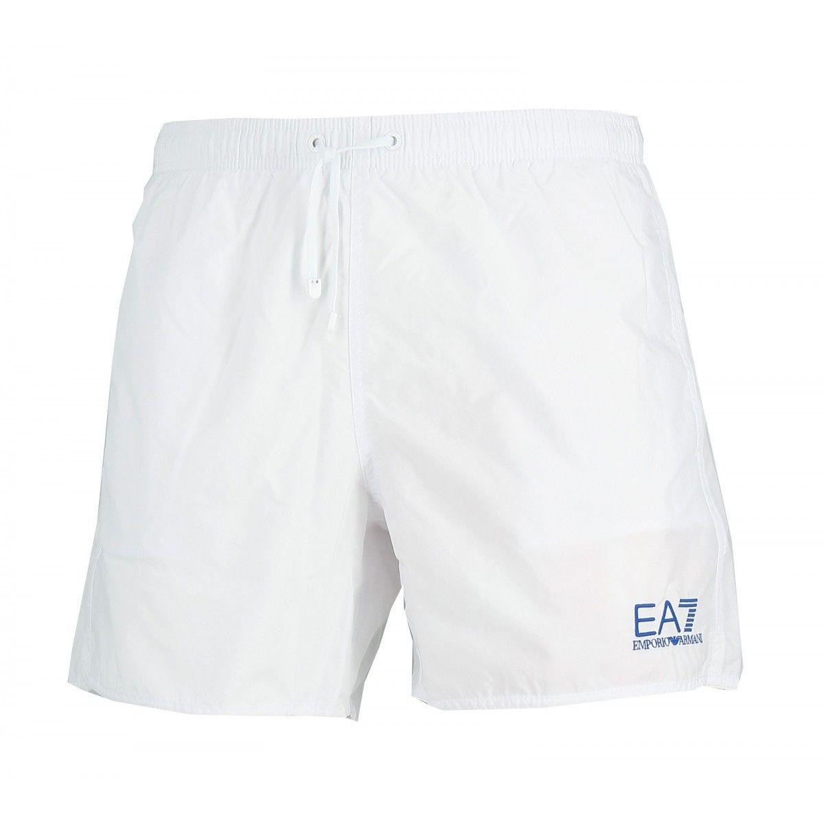 Short de bain EA7 Emporio Armani (Blanc)