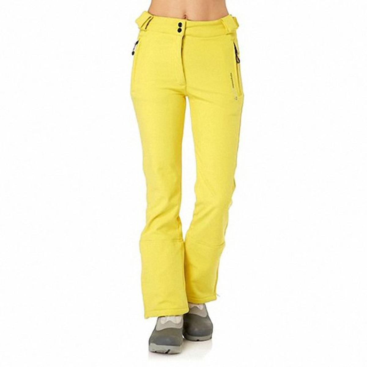 Peak Mountain - Pantalon de ski 10/16 ans GASHELL-jaune