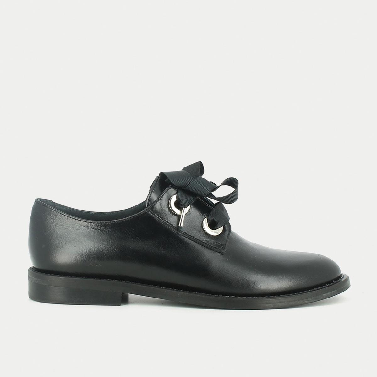Ботинки-дерби кожаные на шнуровке, Deli цены онлайн