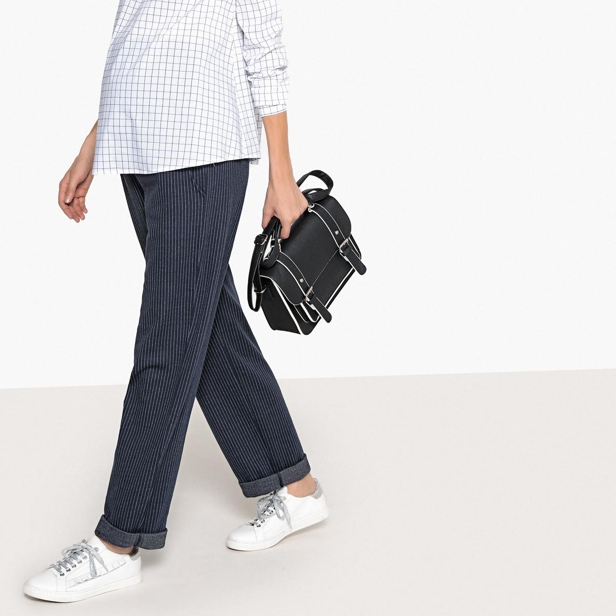 Pantaloni jogpants pre-maman, a righe