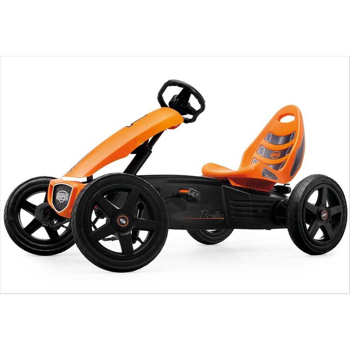 Kart à pédales BERG Rally orange