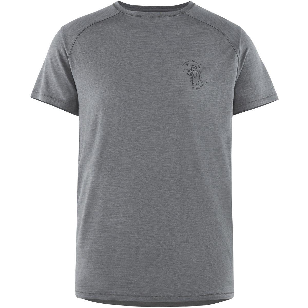 Eir Rain - T-shirt manches courtes Homme - gris