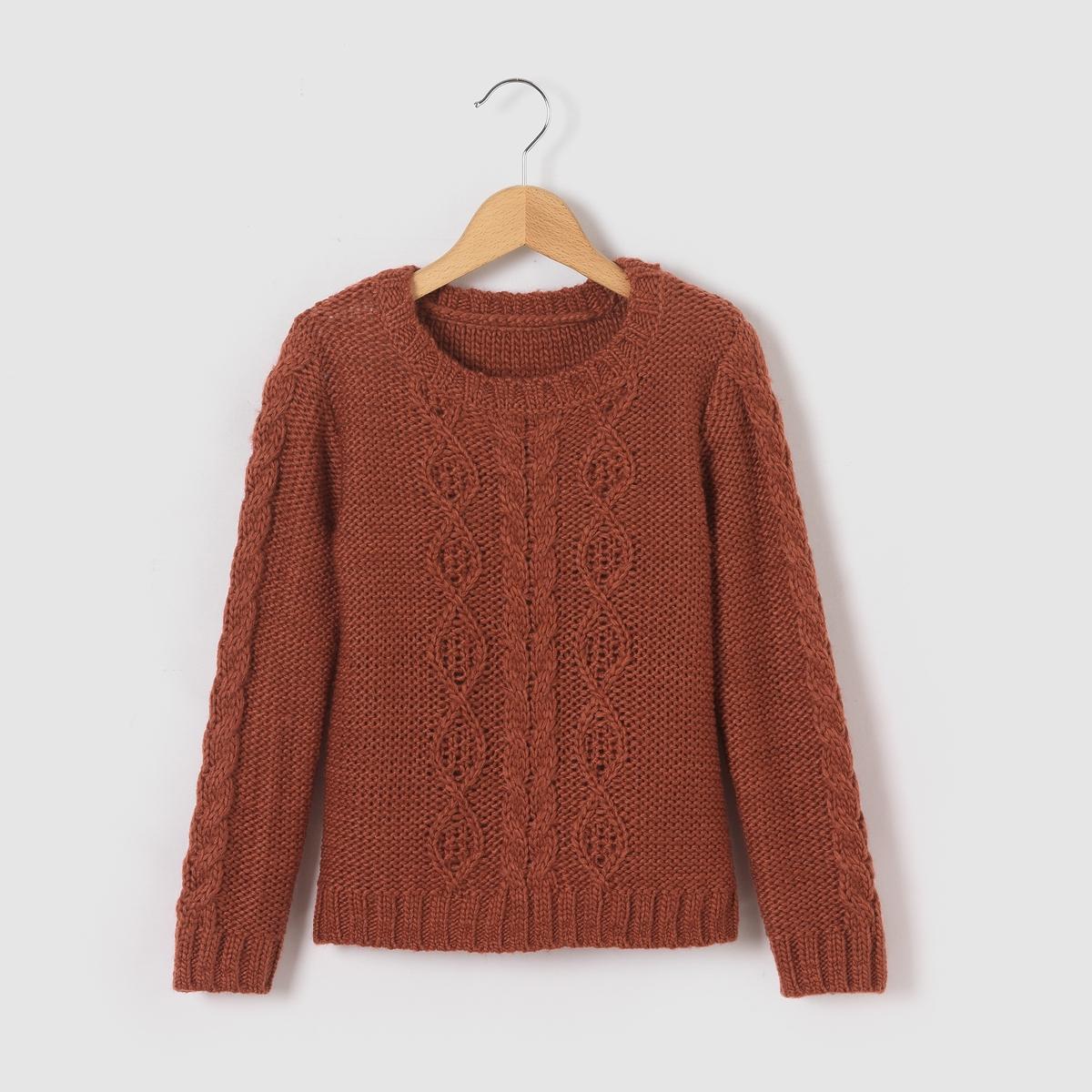 Пуловер из плетеного трикотажа 3-12 лет от La Redoute Collections