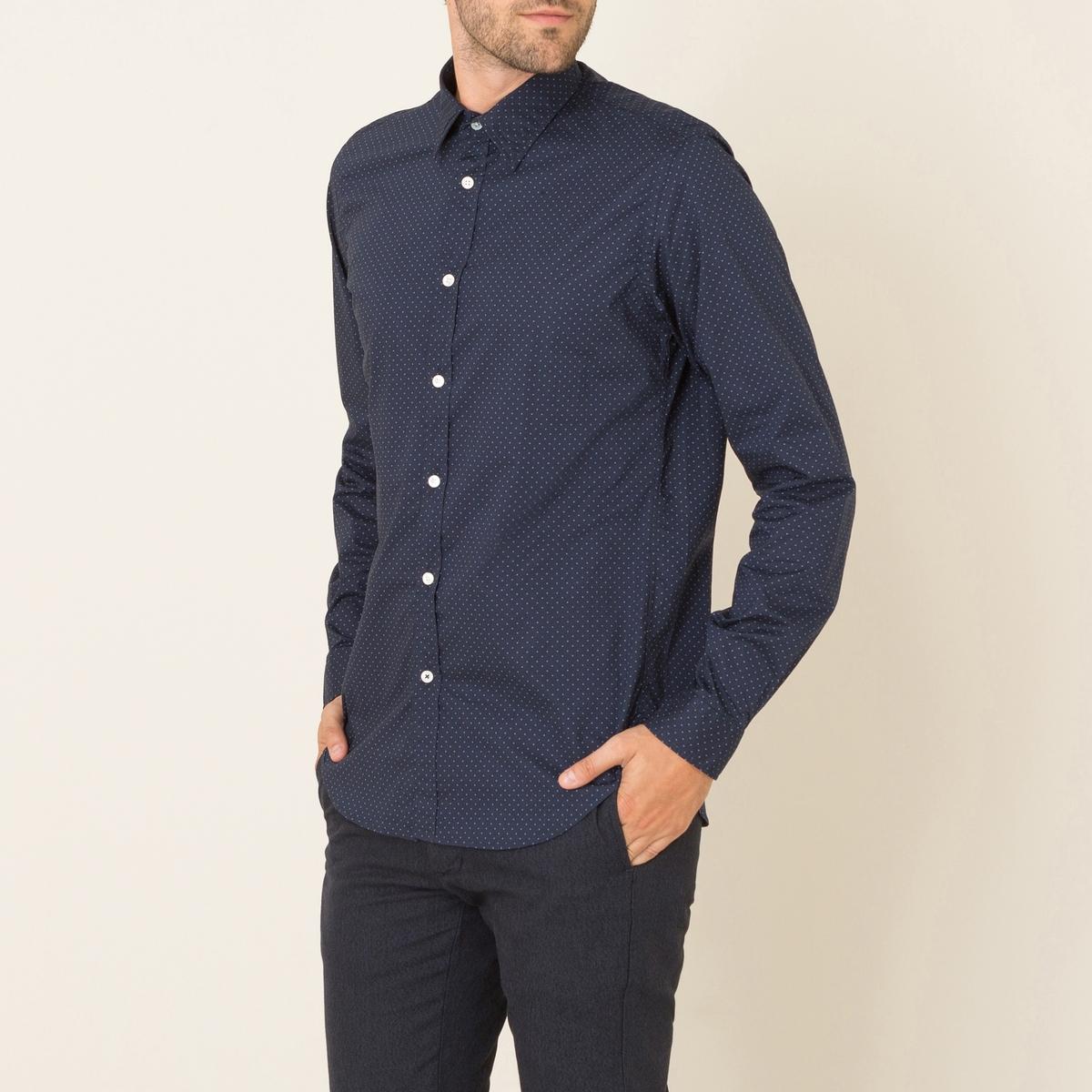 Рубашка SAMMYСостав &amp; Детали      Материал : 100% хлопок.     Марка : HARTFORD<br><br>Цвет: темно-синий<br>Размер: XL