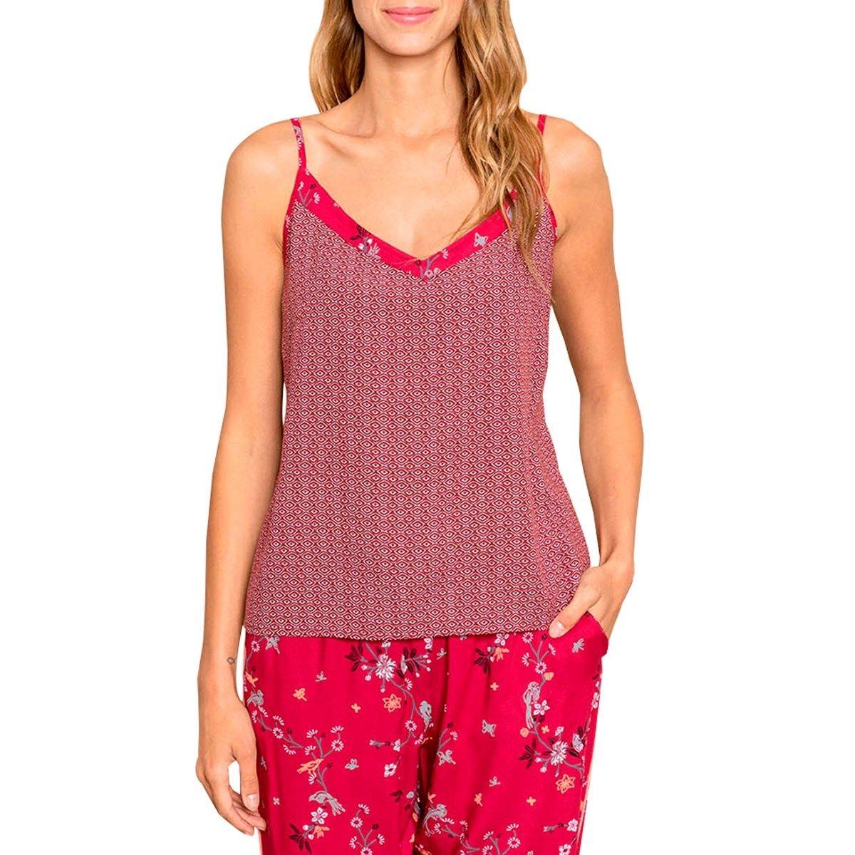 Caraco de pyjama imprimé