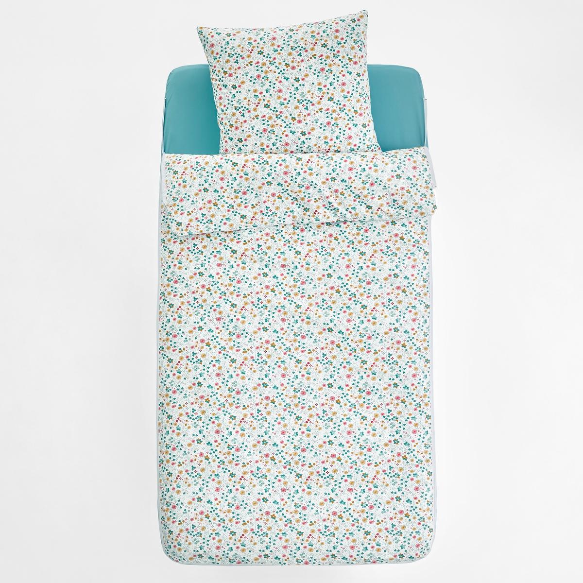 Постельный La Redoute Комплект без одеяла ILLONA 90 x 140 см разноцветный кровать la redoute douv 140 x 190 см серый