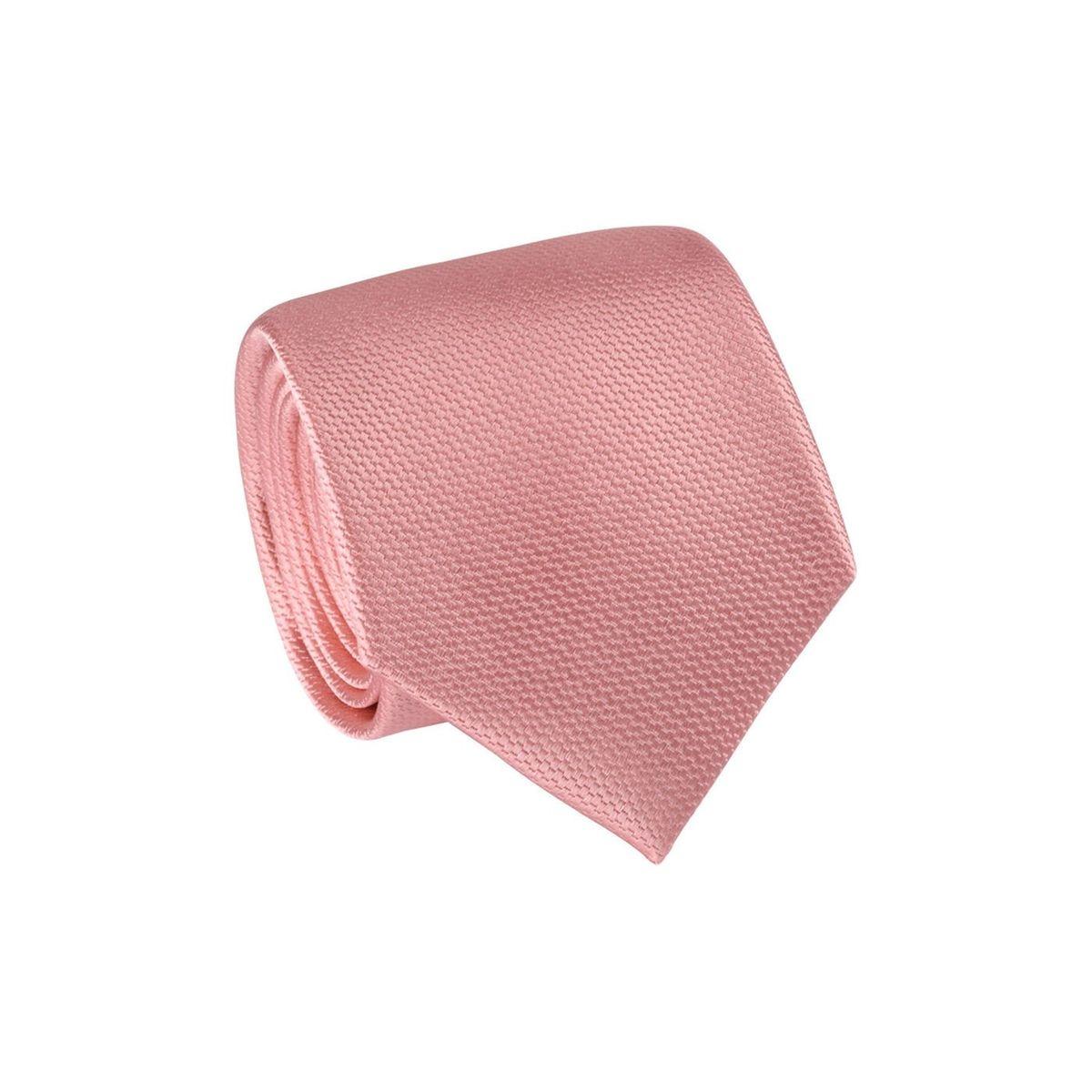 Cravate 100% soie faux uni satiné