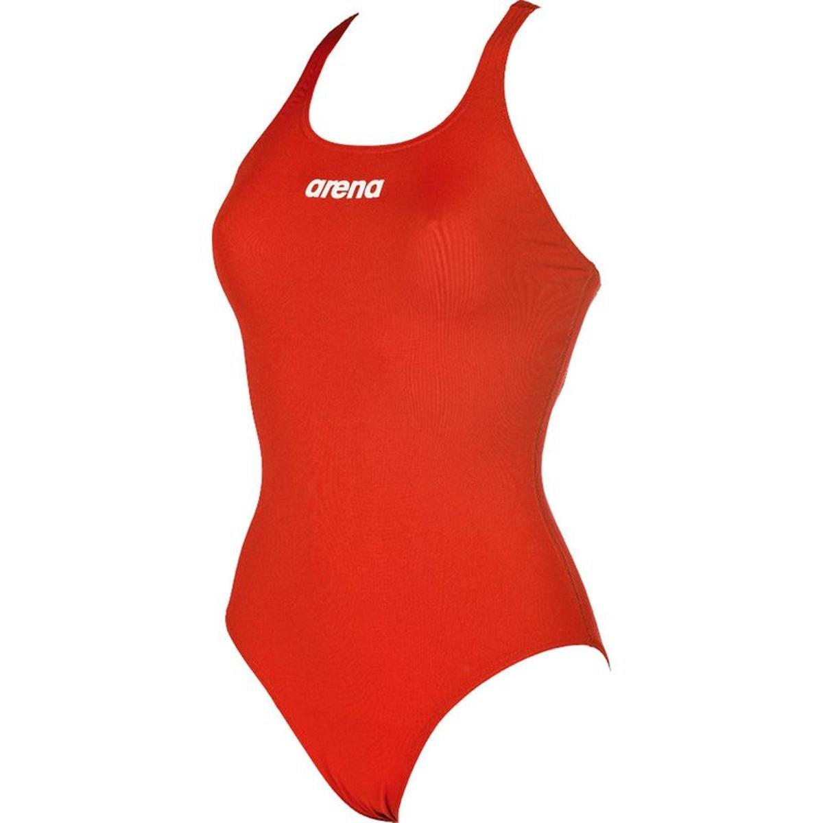 Solid Swim Pro - Maillot de bain Femme - rouge
