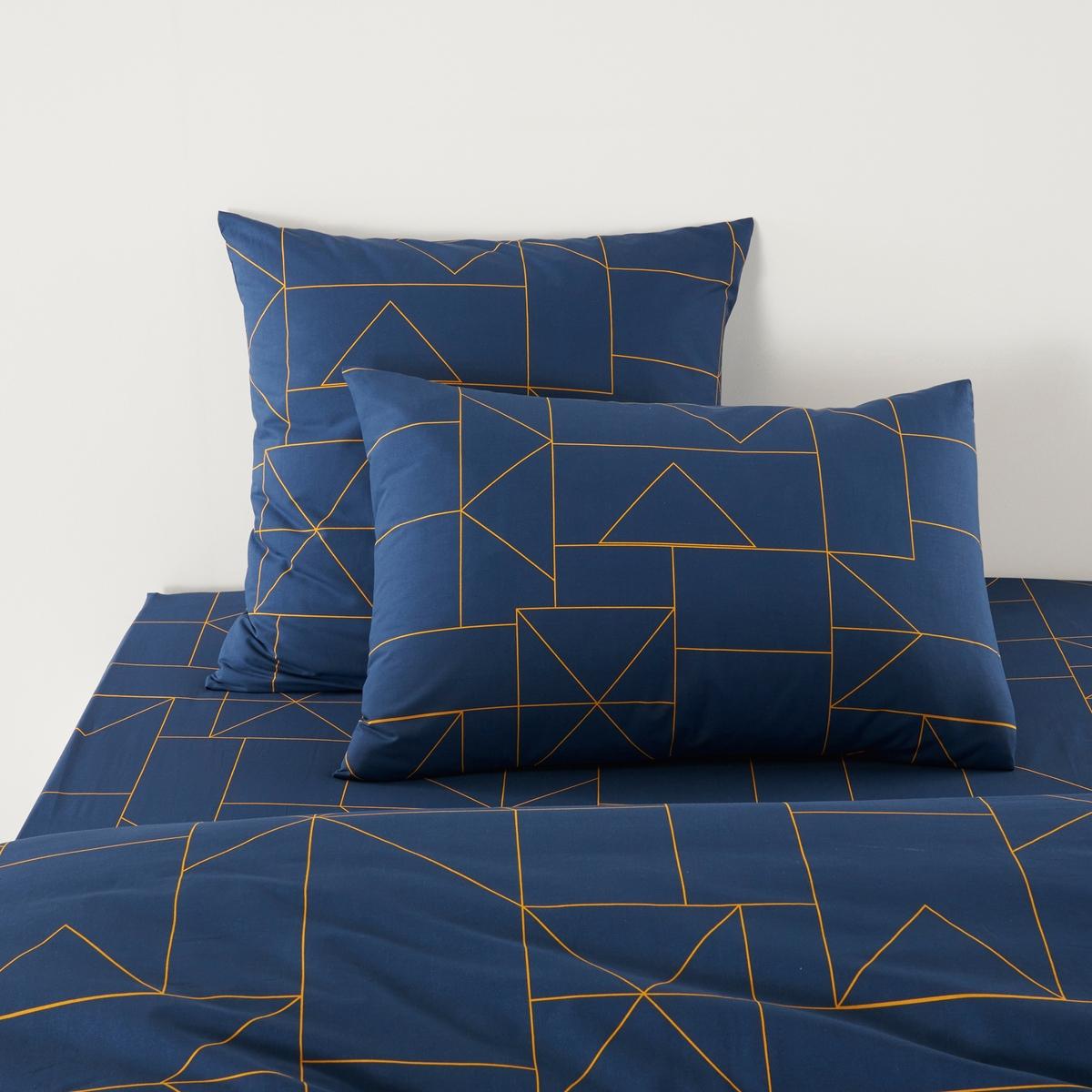 Наволочка La Redoute DWIGHT 63 x 63 см синий наволочка la redoute flooch 50 x 30 см бежевый
