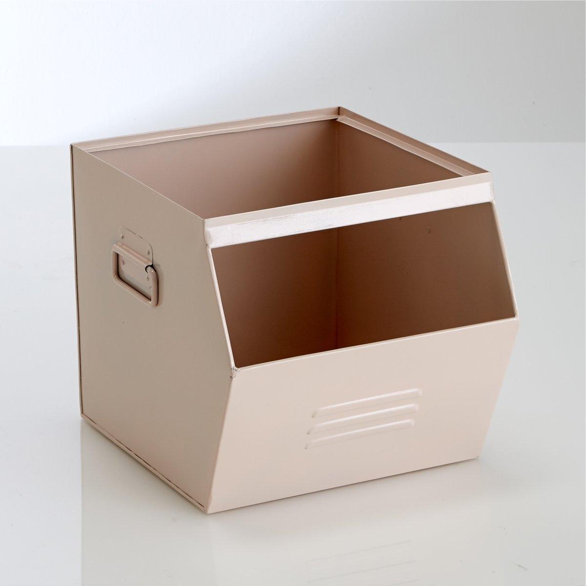 Ящик из гальванизированного металла, HibaДля версии серый металлик, эффект старины делает каждое изделие уникальным . Неоднородность, которая может проявиться, подчеркивает аутентичность изделия .  Описание ящика Hiba Ручки сбоку .Отделение для этикеток сбоку .Характеристики ящика HibaГальванизированный металл, покрытый эпоксидной краской .Ящик Hiba поставляется в собранном виде .Найдите другую мебель и модели из коллекции Hiba на нашем сайте ..Размеры ящика HibaШирина : 36 смВысота : 30 смГлубина : 33 см.<br><br>Цвет: розовый