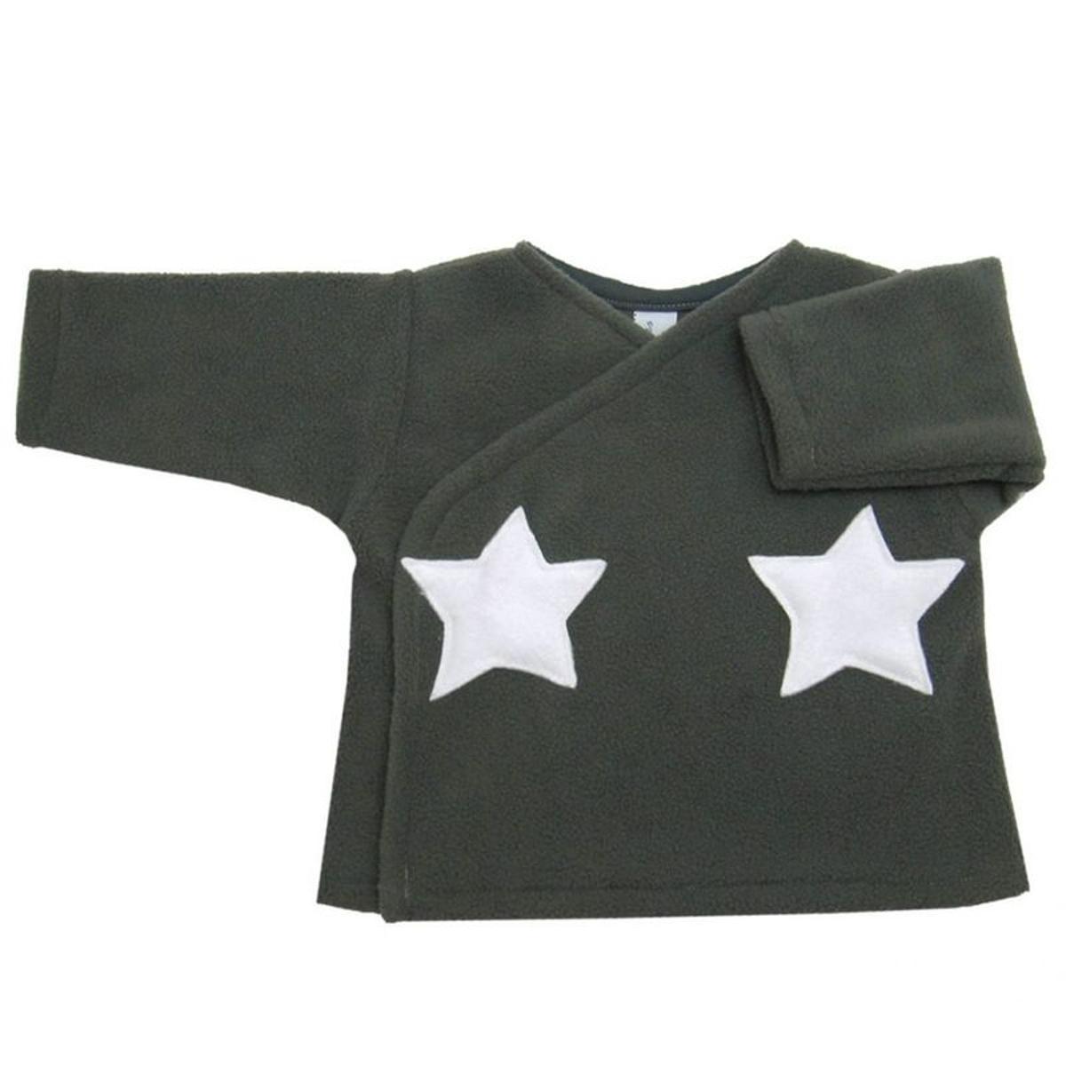 Gilet brassière étoiles appliquées Made in France