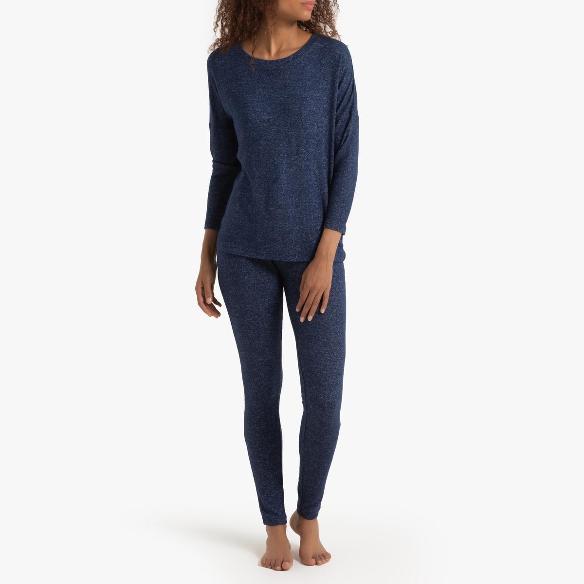 Пижама La Redoute Экстра-мягкая 34/36 (FR) - 40/42 (RUS) синий