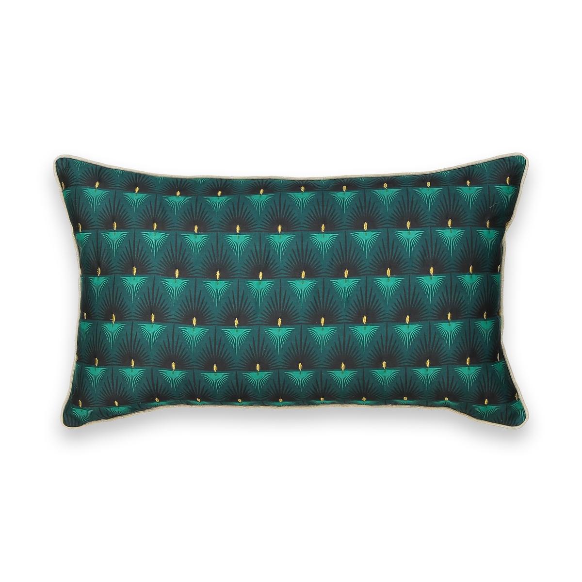 Чехол La Redoute На подушку MACAPA 50 x 30 см зеленый наволочка la redoute flooch 50 x 30 см бежевый