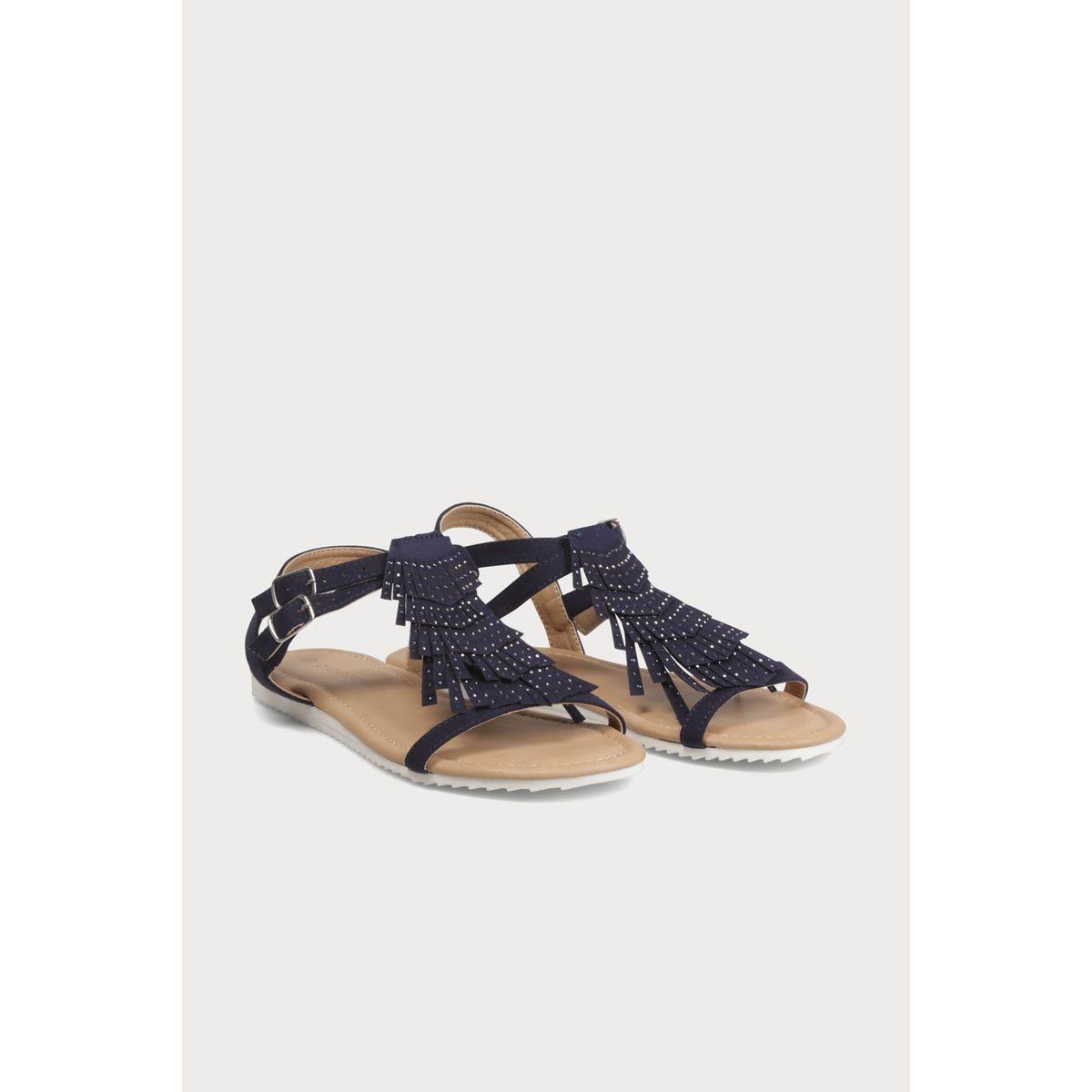 Sandales franges mexicaines