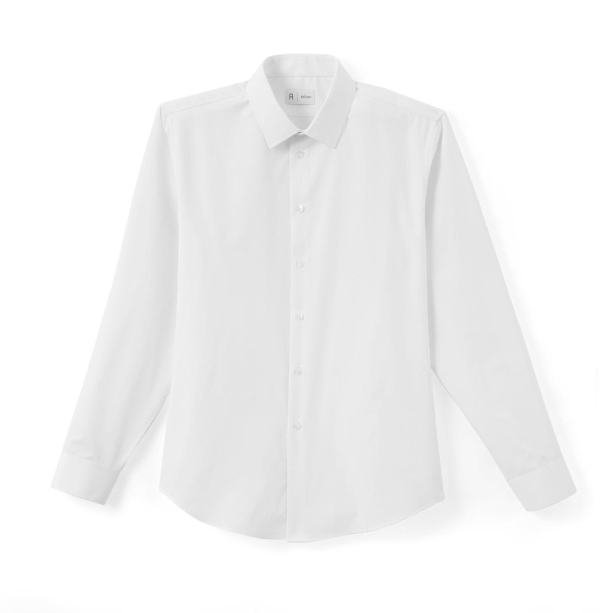 Рубашка узкого покрояРубашка с длинными рукавами. Облегающий покрой. Классический воротник со свободными кончиками . Легкая глажка.Состав и описание : Материал         55% хлопка, 45% полиэстераДлина       78,5 см Марка          R edition Уход: :Машинная стирка при 30° на деликатном режиме с вещами подобного цвета  Стирка и глажка с изнаночной стороныСухая чистка и машинная сушка запрещеныГладить на низкой температуре<br><br>Цвет: белый,небесно-голубой,розовый,синий морской,черный<br>Размер: 35/36.47/48.45/46.41/42.39/40.37/38.45/46.43/44.37/38.35/36.47/48.45/46.43/44.41/42.39/40.37/38.49/50.47/48.45/46.43/44.41/42.39/40.37/38.35/36.45/46.43/44.39/40.37/38.43/44.35/36.47/48