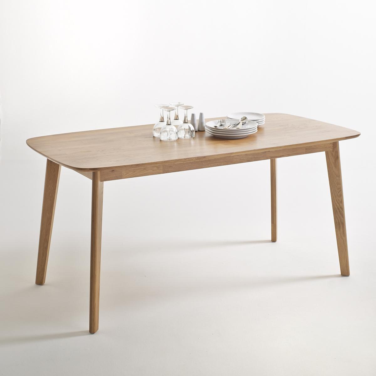 Стол La Redoute Из массива дуба на персон JIMI 6 персоны каштановый стол la redoute обеденный с удлинением персон jimi 10 персоны белый