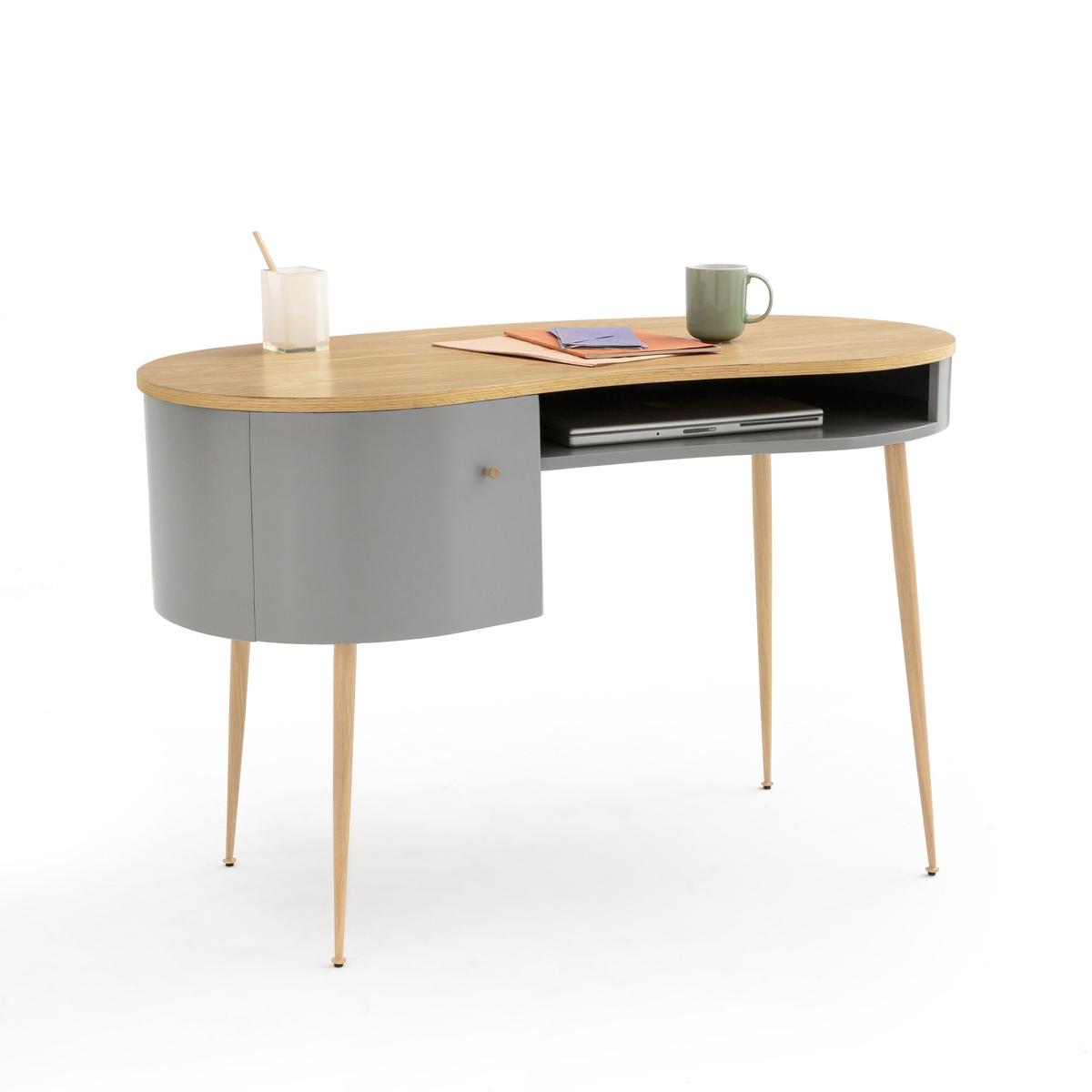 Стол La Redoute Письменный ANDA единый размер серый
