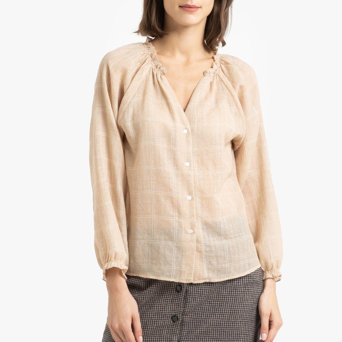 Chemise à col V fantaisie ROGELIO