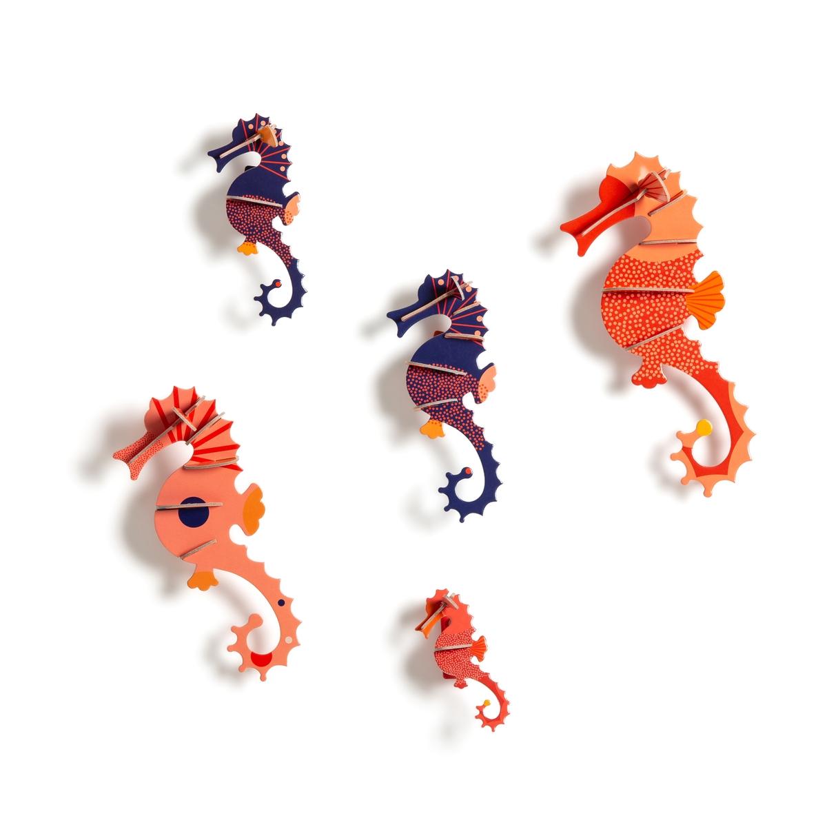Комплект из морских коньков La Redoute Hippo Studio Roof единый размер разноцветный