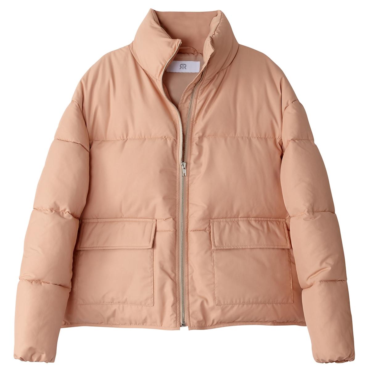 Куртка стеганая оверсайзДетали •  Длина  : укороченная   •  Воротник-стойка •  Застежка на молниюСостав и уход •  100% полиэстер •  Температура стирки при 30° на деликатном режиме   •  Сухая чистка и отбеливание запрещены •  Не использовать барабанную сушку   •  Не гладить •  Длина  : 62 см<br><br>Цвет: белый,красный,черный<br>Размер: S.L.M.S.L.M.S.L