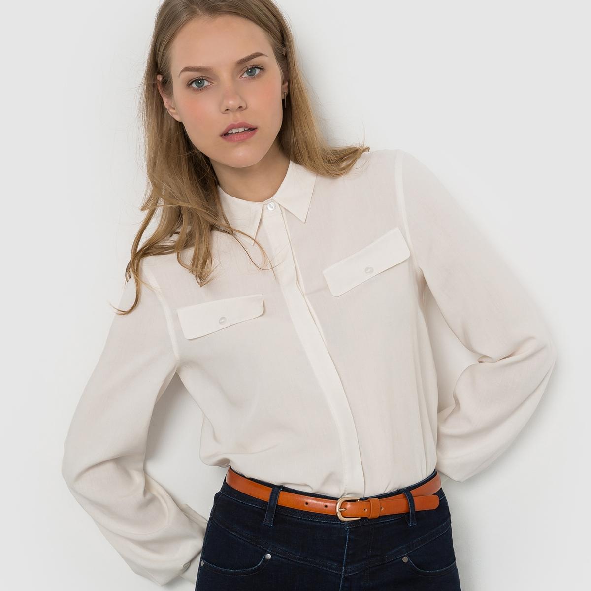 Рубашка струящаясяСостав и детали :Материал: 100% вискозыДлина: 65 смМарка: R ?dition   Уход :- Машинная стирка при 30°С с вещами схожих цветов.Стирать и гладить с изнаночной стороны.<br><br>Цвет: оливковый,оранжевый<br>Размер: 40 (FR) - 46 (RUS)
