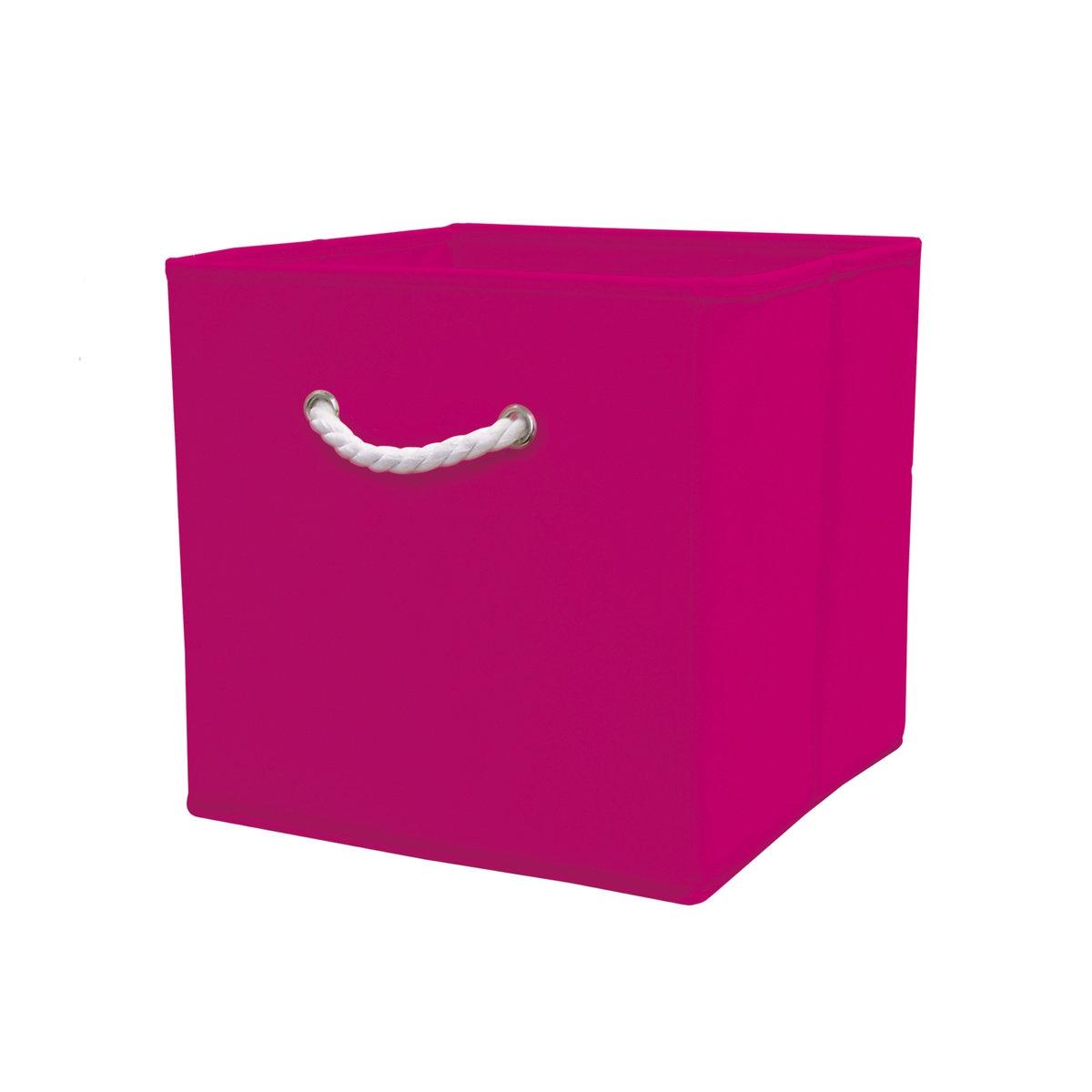 Короб для вещей DeniseЕго квадратная форма позволит вам разместить перчатки, шарфа, канцелярские принадлежности, аксессуары на каждый день, игрушки, журналы, административные архивы… короб для вещей Denise обеспечит идеальное хранение !Характеристики короба для вещей Denise :каркас из картона (толщ.. 1,8 мм)Покрытие из ткани, 80 гр/м2Описание короба для вещей Denise  :Веревочная ручка из белого хлопка спереди Складная конструкция.Найдите коллекцию Denise нашем сайте .Размеры короба для вещей Denise :31,5 x 31,5 x 31,5 см .<br><br>Цвет: бирюзовый,зеленый анис,розовый<br>Размер: единый размер.единый размер