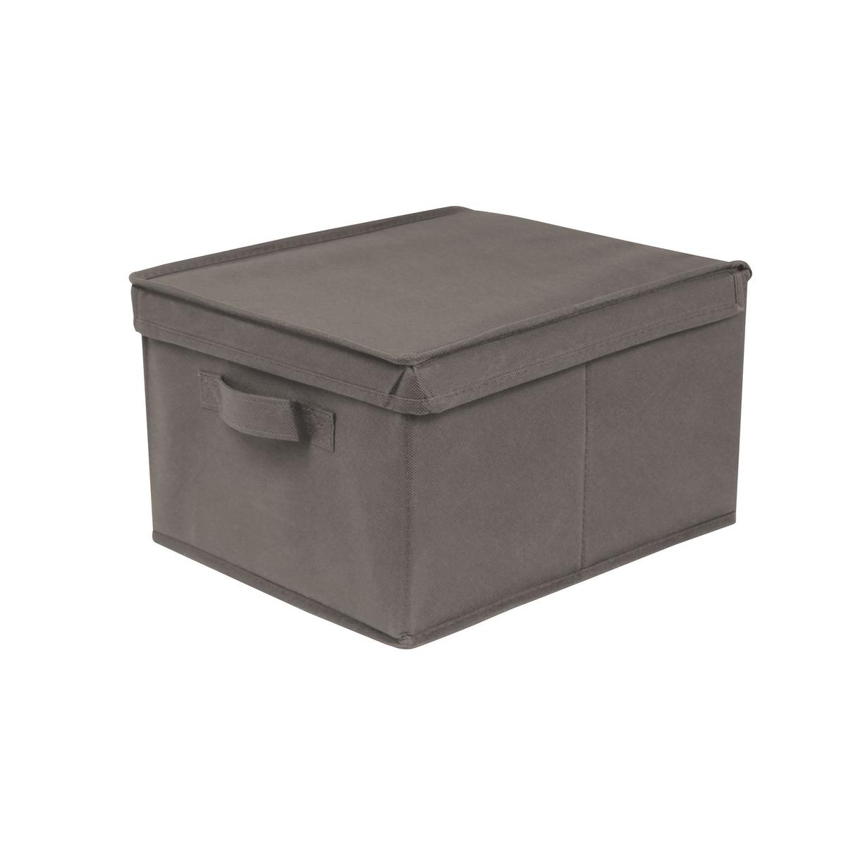Короб 28 x 20 x 35 см, DeniseЕго прямоугольная форма позволяет хранить перчатки, шарфы, канцелярские товары и различные аксессуары . Детская комната, административные архивы, сезонные вещи или домашний текстиль… короб Denise - ультрапрактичное решение для хранения любых вещей !Характеристики короба Denise  :каркас из картона (толщ.. 1,8 мм)Обивка из ткани, 80 г/м2Описание короба Denise :Ручка спереди Крышки открывается вверх СкладнойКороба различных размеров можно найти на нашем сайте Откройте для себя всю коллекцию Denise на сайте laredoute.ruРазмеры короба Denise:Ш.28 x В.35 x Г.20 см .<br><br>Цвет: бирюзовый,серо-коричневый каштан
