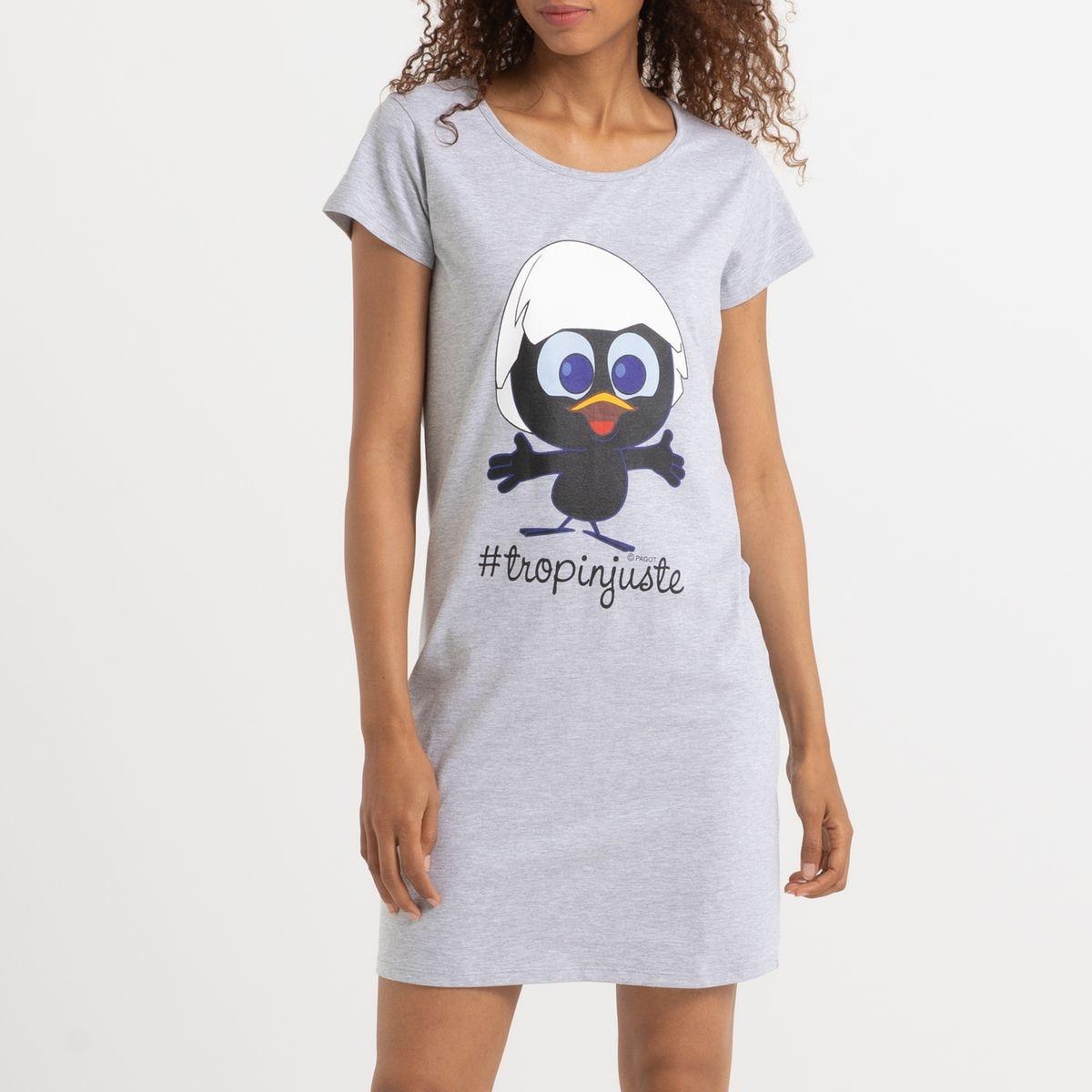 Chemise de nuit long T-shirt Caliméro