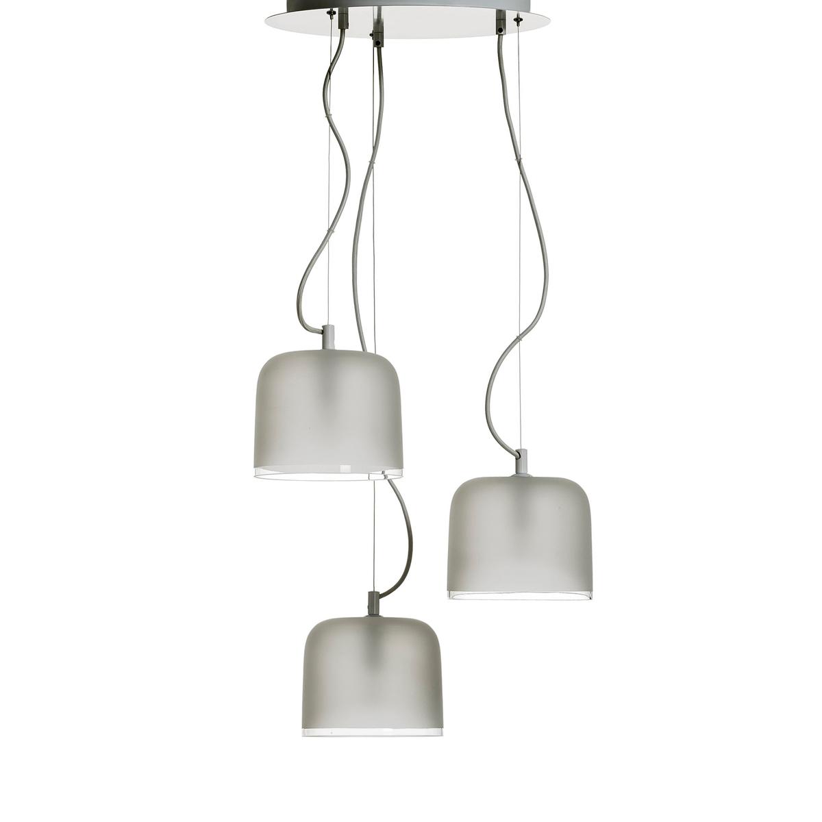 Светильник Zella с 3 абажурами, дизайн Э . Галлины