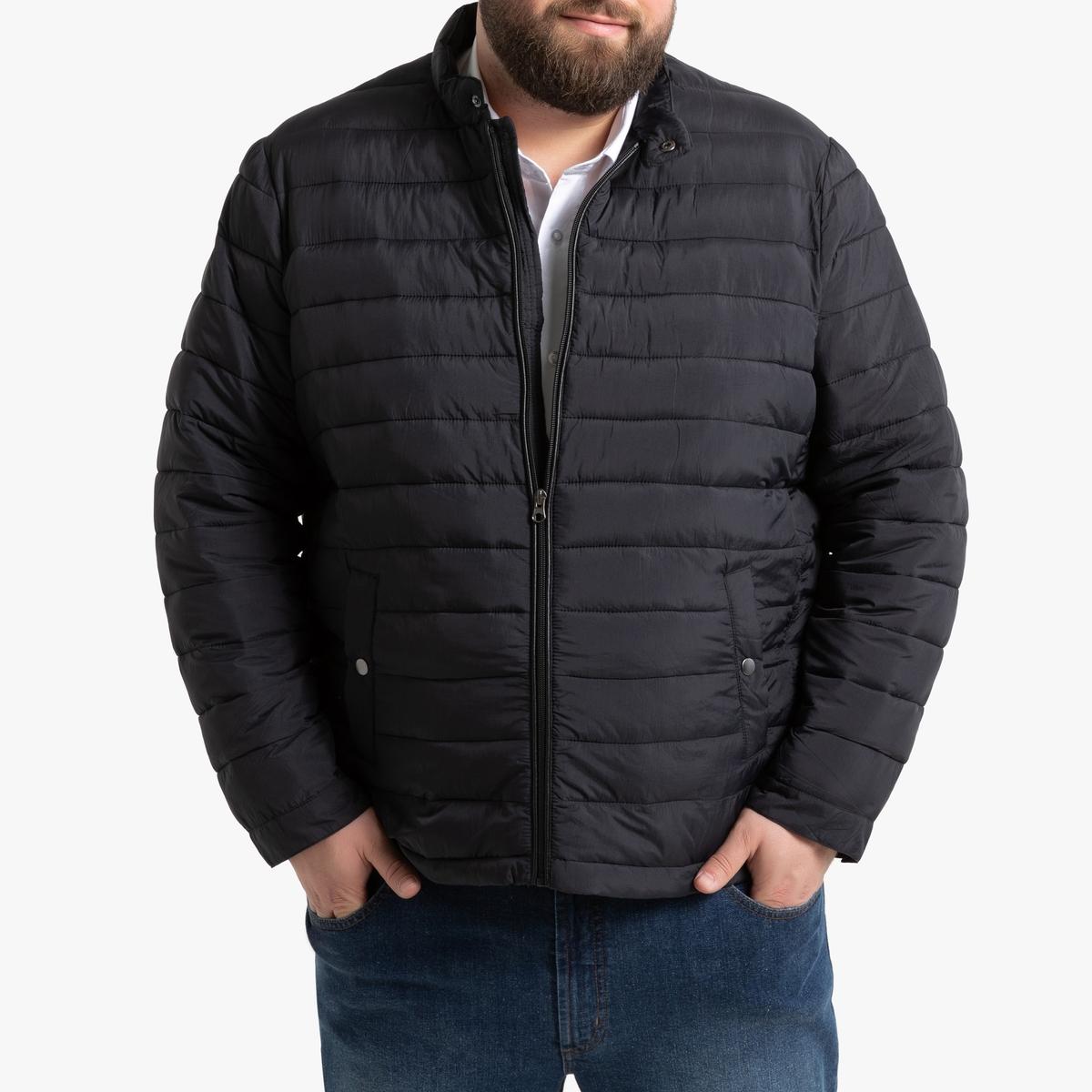 Куртка La Redoute Укороченная большого размера демисезонная модель 4XL черный