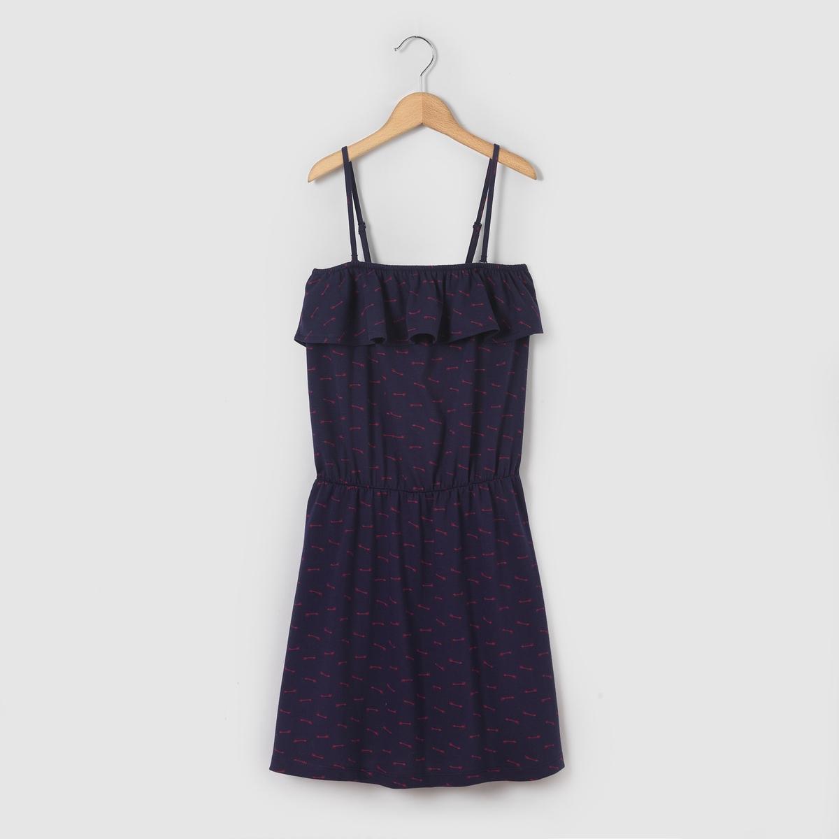 Платье-бюстье с рисунком, 10-16 лет