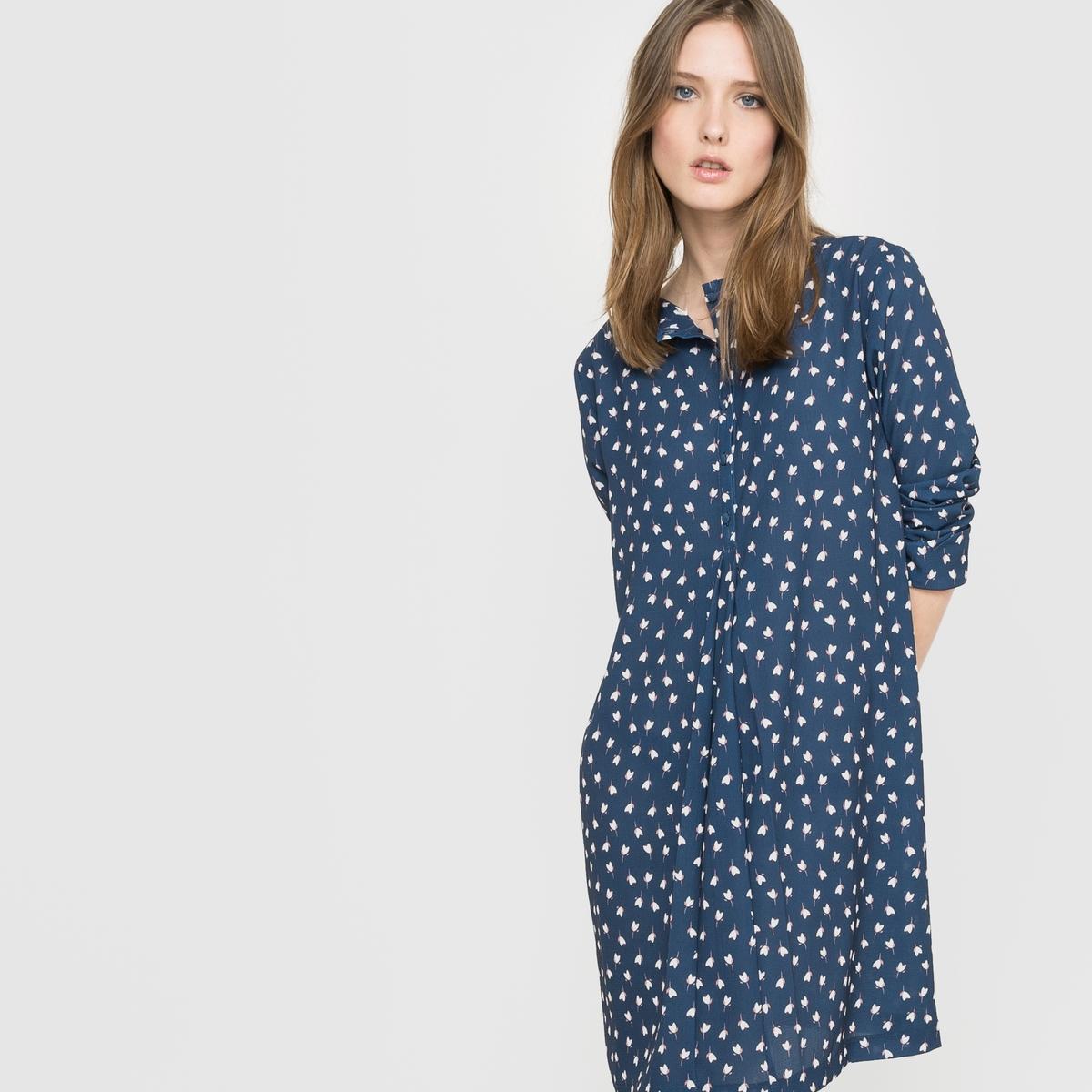 Платье-футляр с рисунком, сделано во Франции платье футляр с рисунком rustica