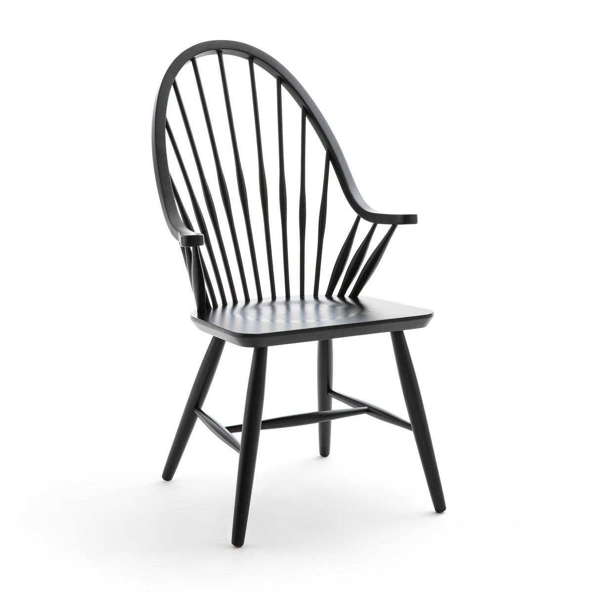 Кресло La Redoute Из массива бука JIMI единый размер черный